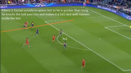 Bayern v Barca 2nd Leg (9)